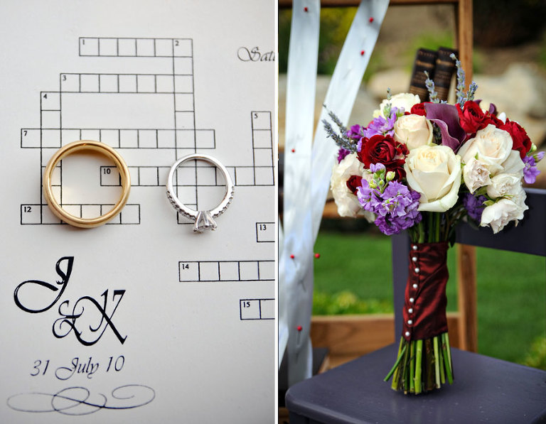 This Next Wedding Idea Comes From Kelley And Jeffs Fantastic Summer At Their Reception They Had A Crossword Puzzle On All Of Place Settings