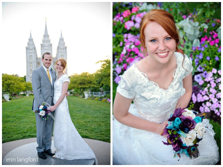 Salt Lake Temple black tie
