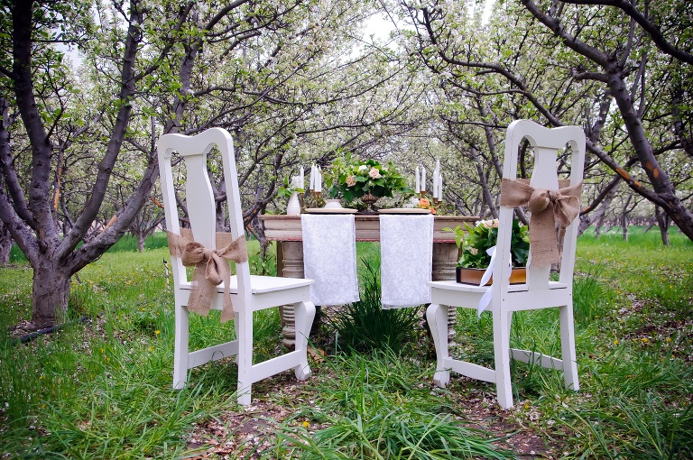 Utah wedding furniture rental