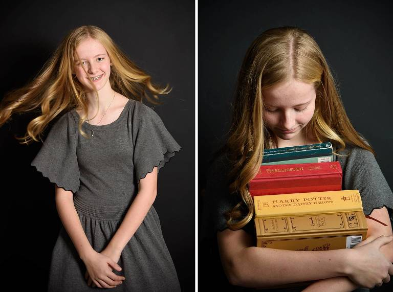 Utah tween photographer book lover