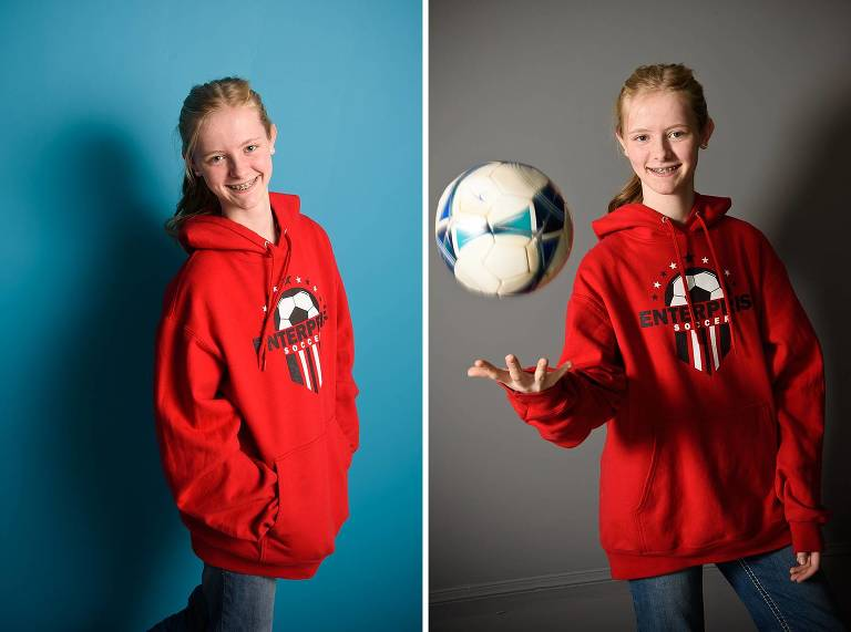 Utah tween photographer soccer player