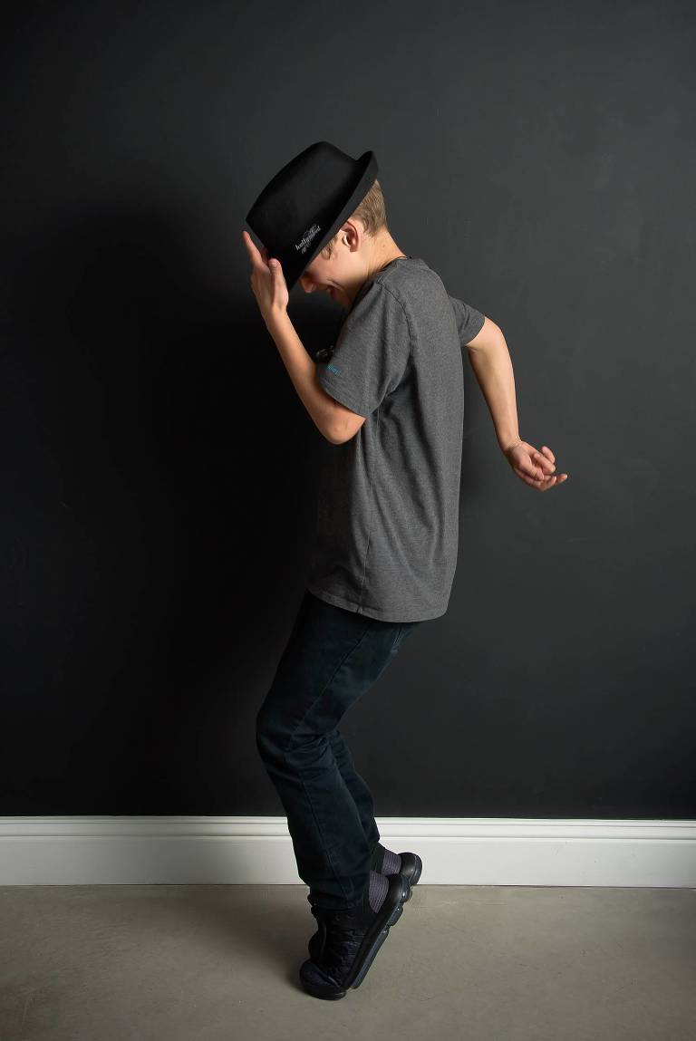 Tween photography boy moonwalk