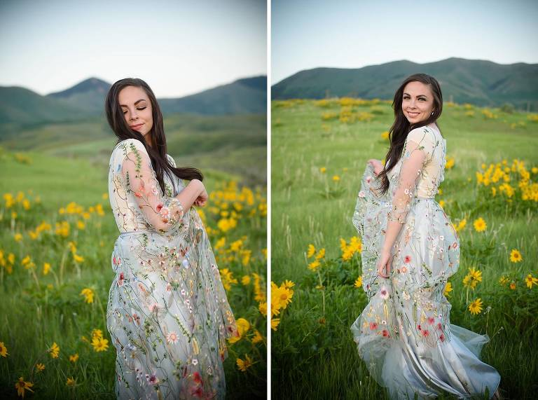 Malad Idaho bridal photography