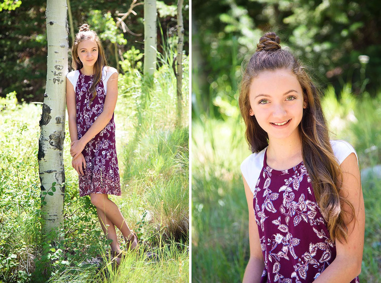 Utah tween photography