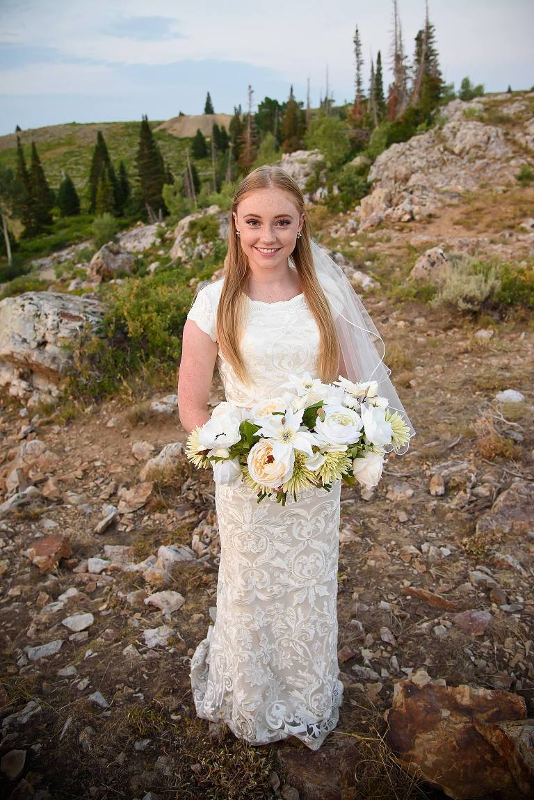 Park City bridal portraits