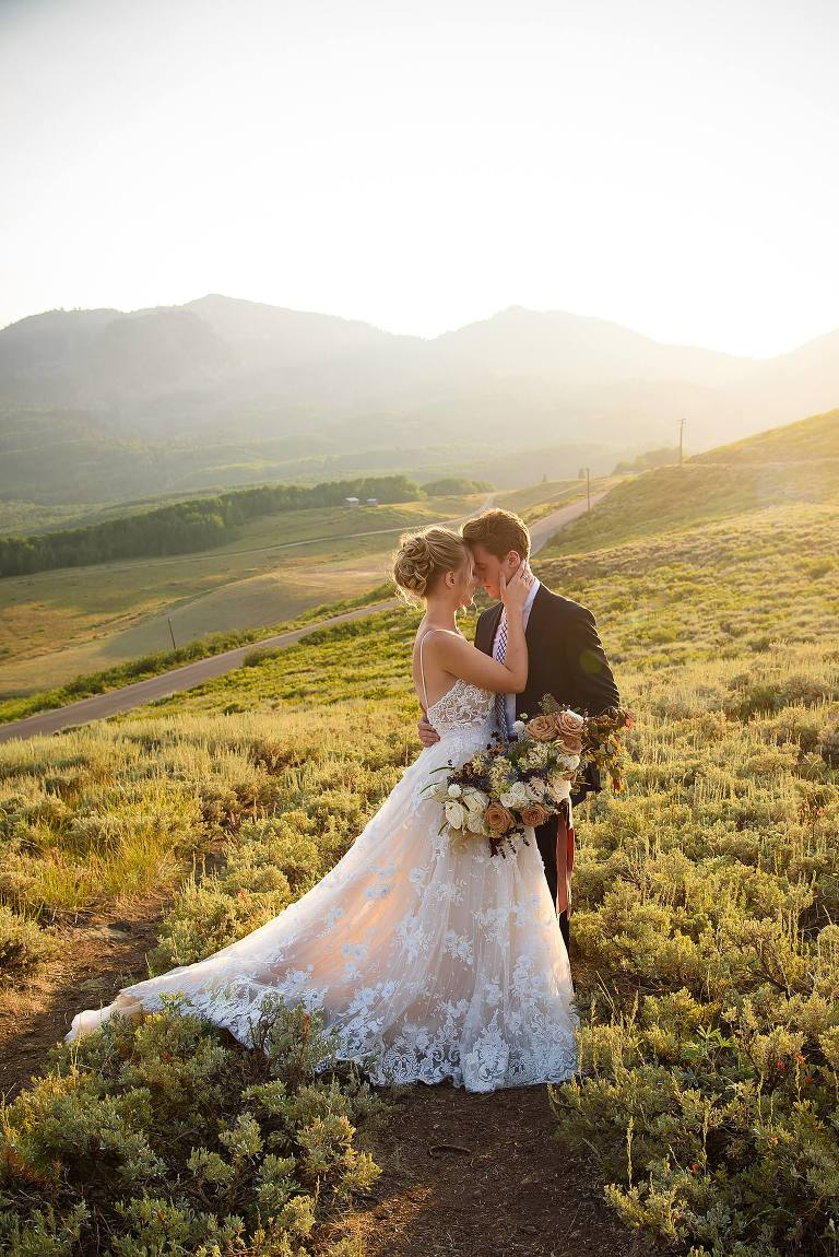 Park City Utah wedding photos