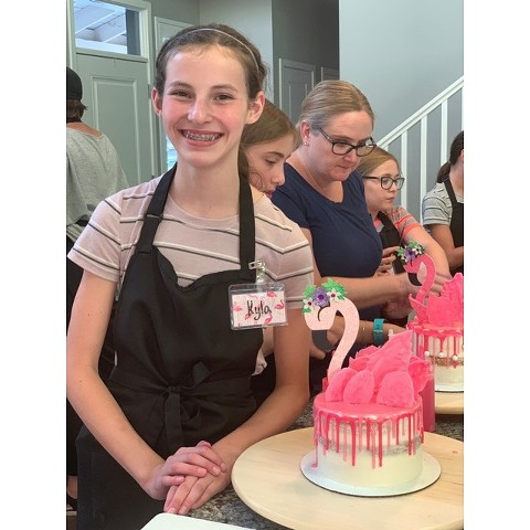 Cake decorating classes for teens